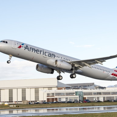 American Airlines A321 MSN 5834