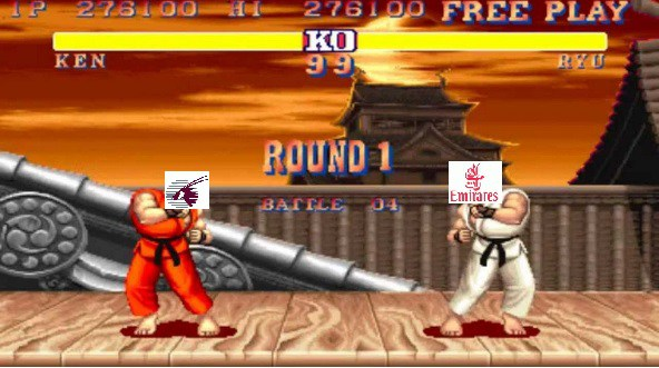 Qatar Ken vs Emirates Riu. Round One… FIGHT!