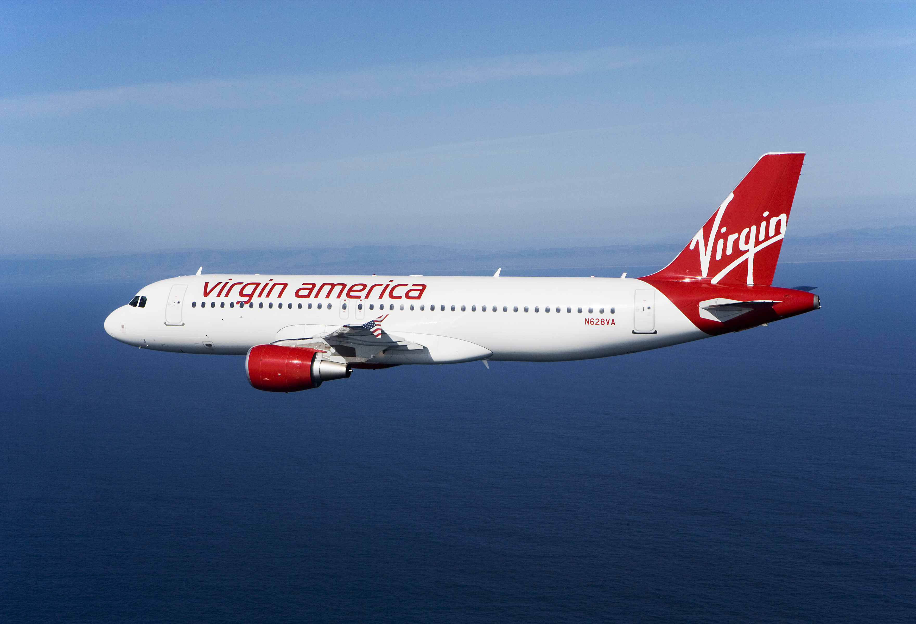 virgin america airbus 320