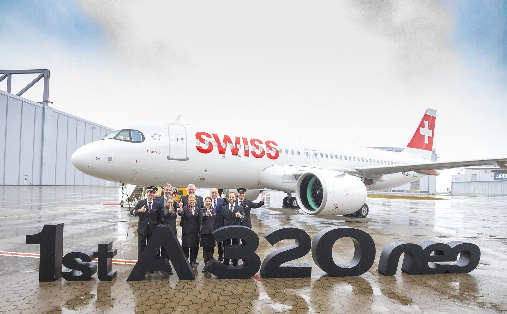 Resultado de imagen para A320neo swiss